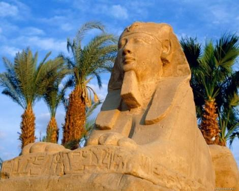 Рисуем Египетского сфинкса