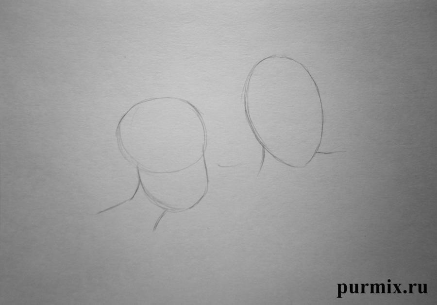 Как нарисовать Анастасию и Гризеллу из Золушки простым карандашом