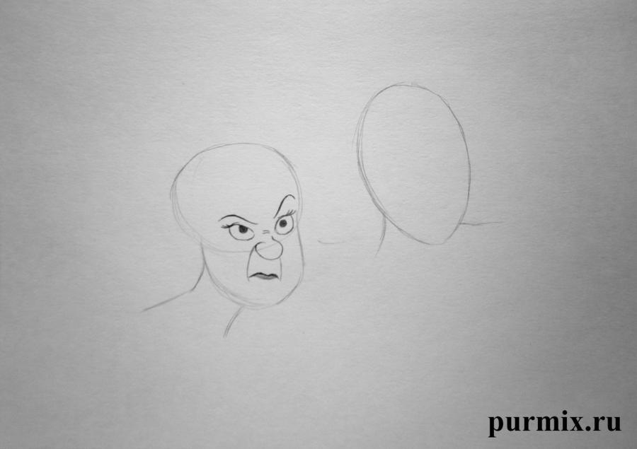 Рисуем Анастасию и Гризеллу из Золушки простым