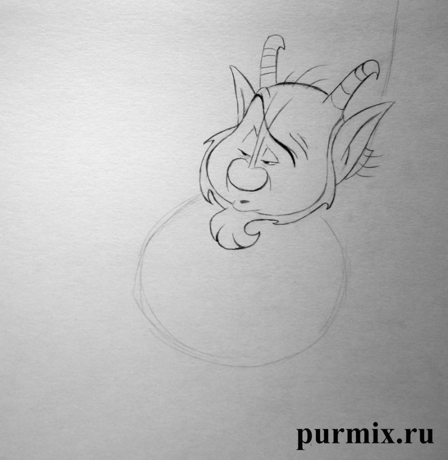 Рисуем Фила из Геркулеса простым