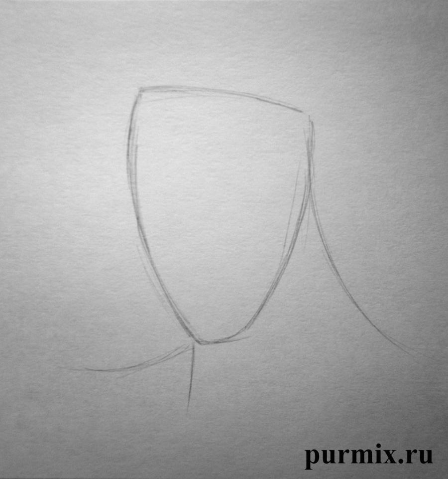 Рисуем Геркулеса - шаг 1