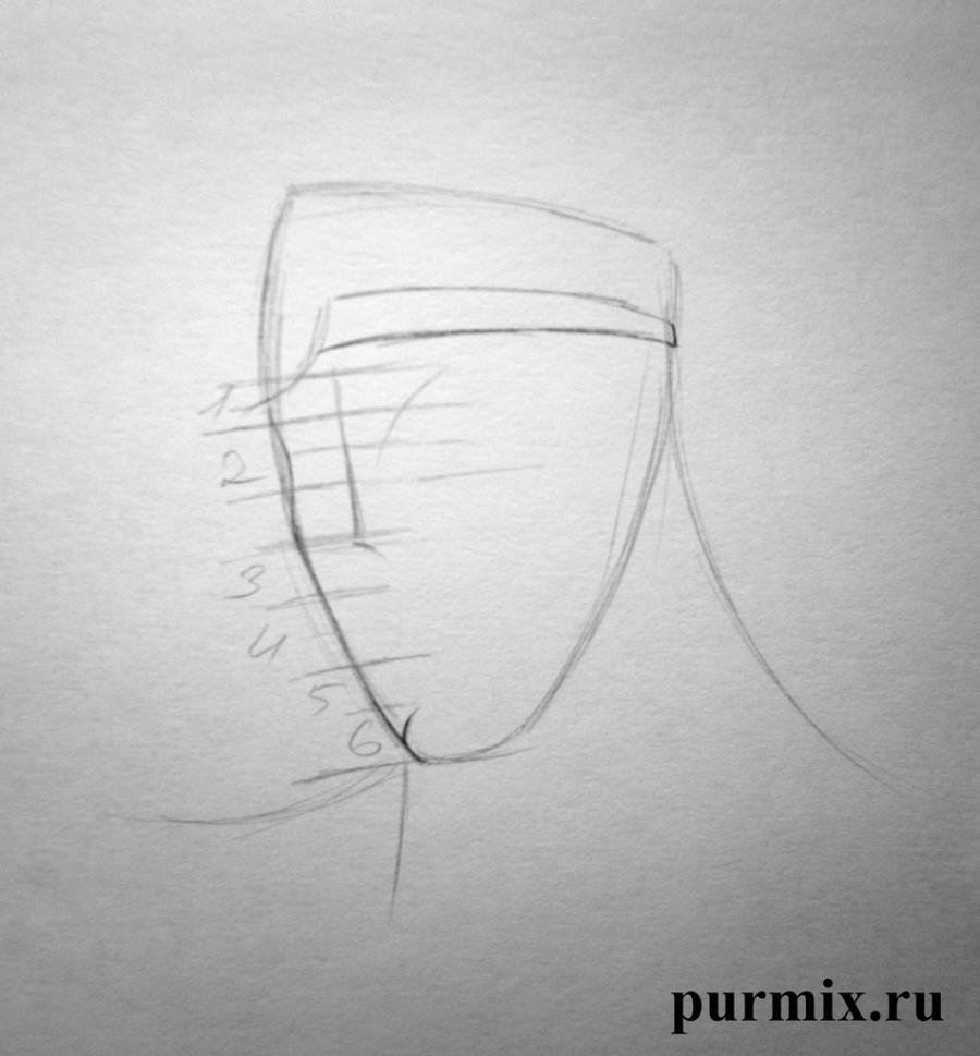 Рисуем Геркулеса - шаг 2