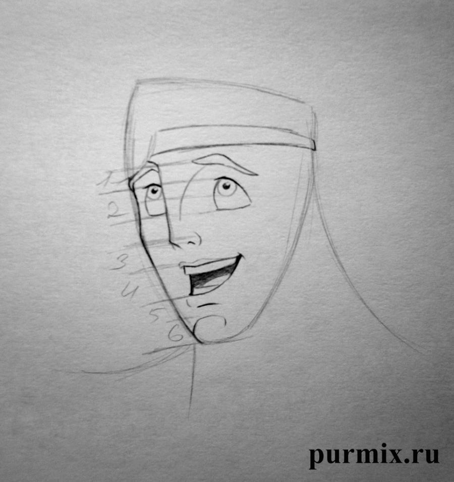 Рисуем Геркулеса - шаг 3