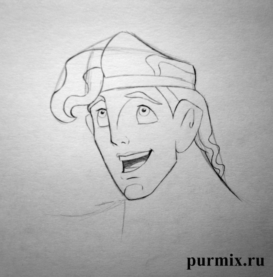 Рисуем Геркулеса - шаг 5