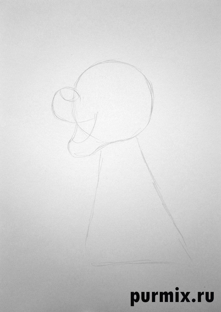 Рисуем Гурги из Черного котла простым