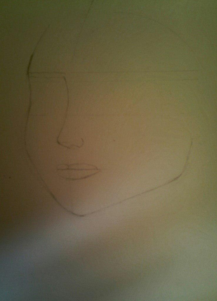 Рисуем Эльзу цветными карандашами - фото 3