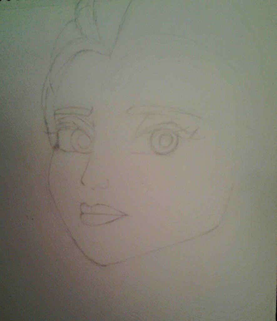 Рисуем Эльзу цветными карандашами - фото 4