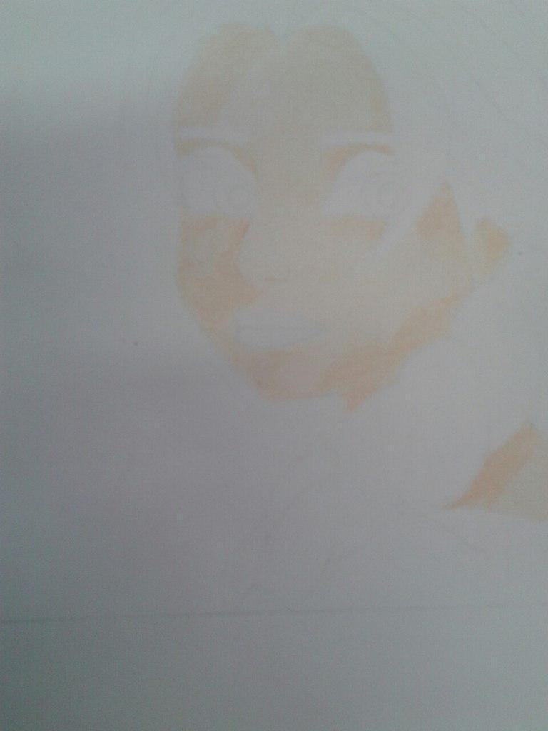 Рисуем Эльзу цветными карандашами - фото 7