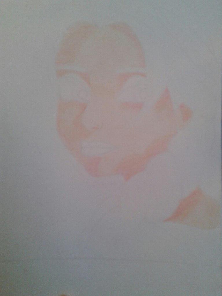 Рисуем Эльзу цветными карандашами - фото 8