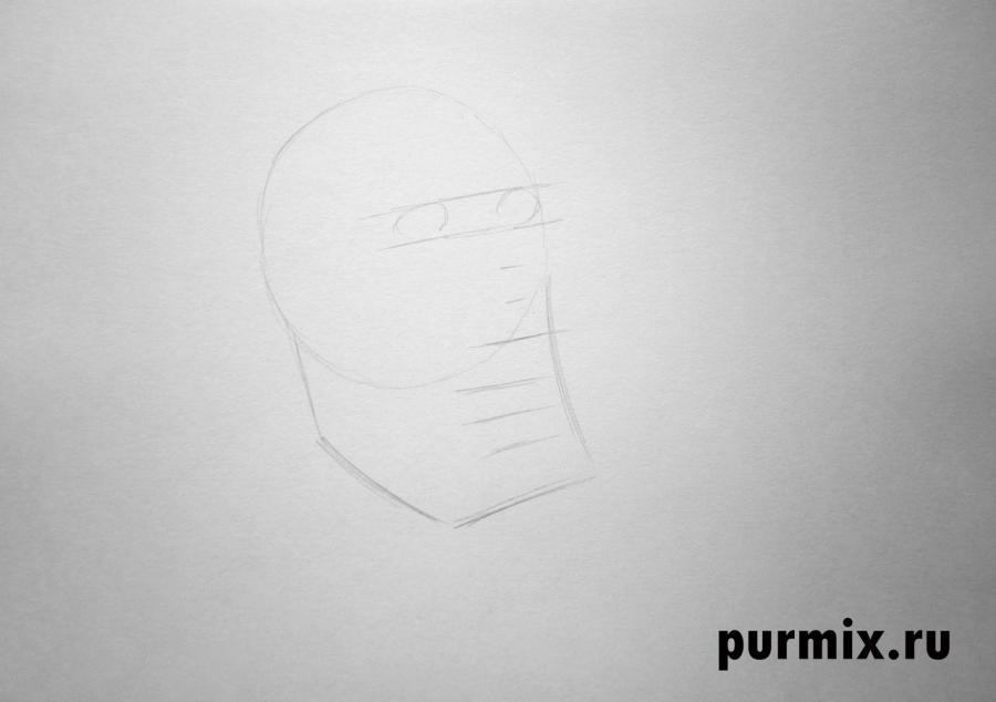 Рисуем капитана Рурка из Атлантида: Затерянный мир
