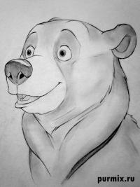 Фото Кеная из мультфильма Братец медвежонок