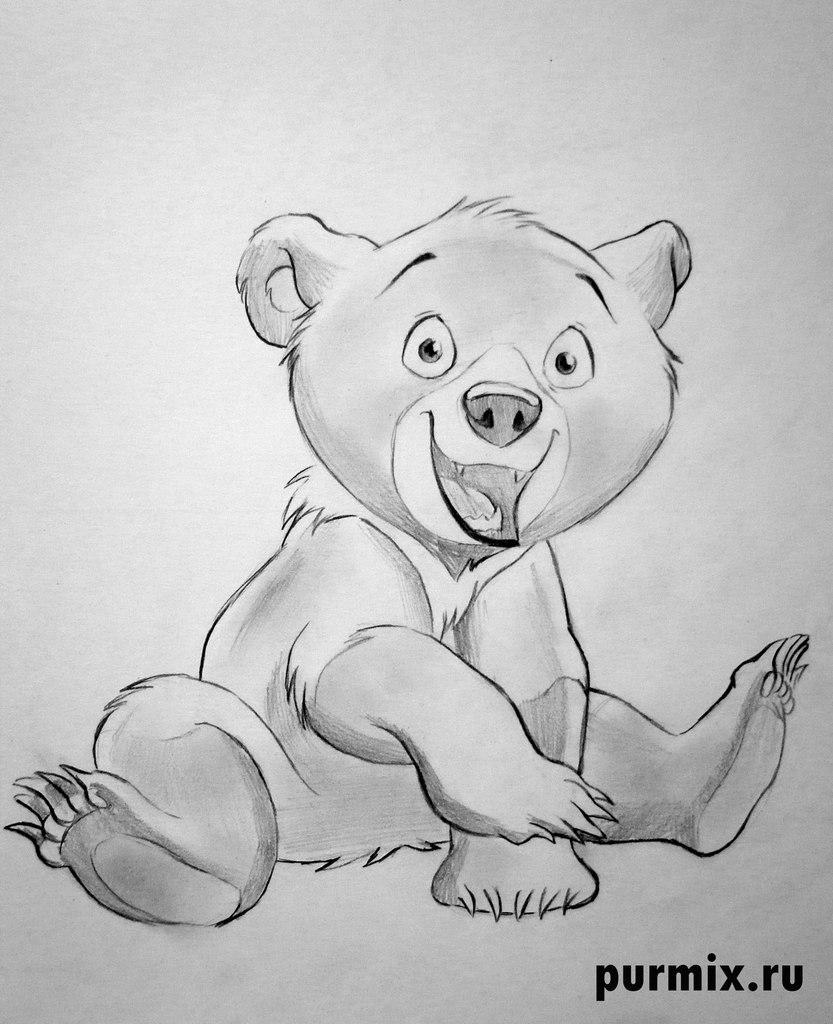 Рисуем Кода из Братец медвежонок