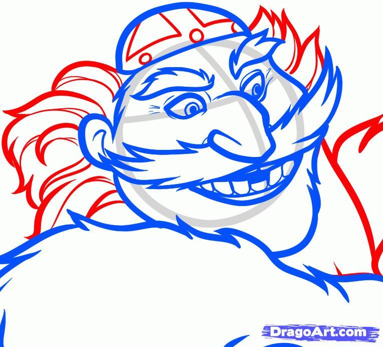 Рисуем Короля Фергуса из Храбрая сердцем