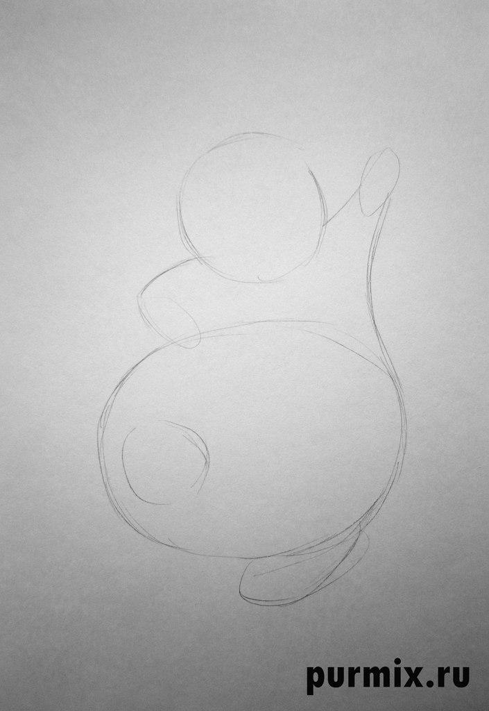 Рисуем Луи из Принцесса и лягушка простым
