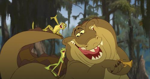 Рисуем Луи, Навина и Тиану из Принцесса и лягушка