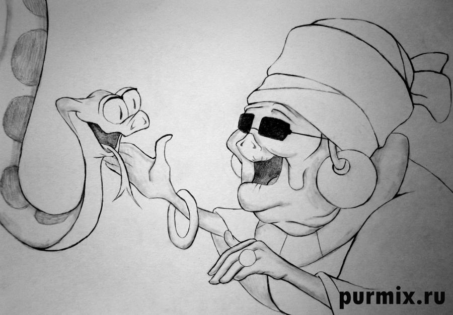 Рисуем Маму Оди из Принцесса и лягушка