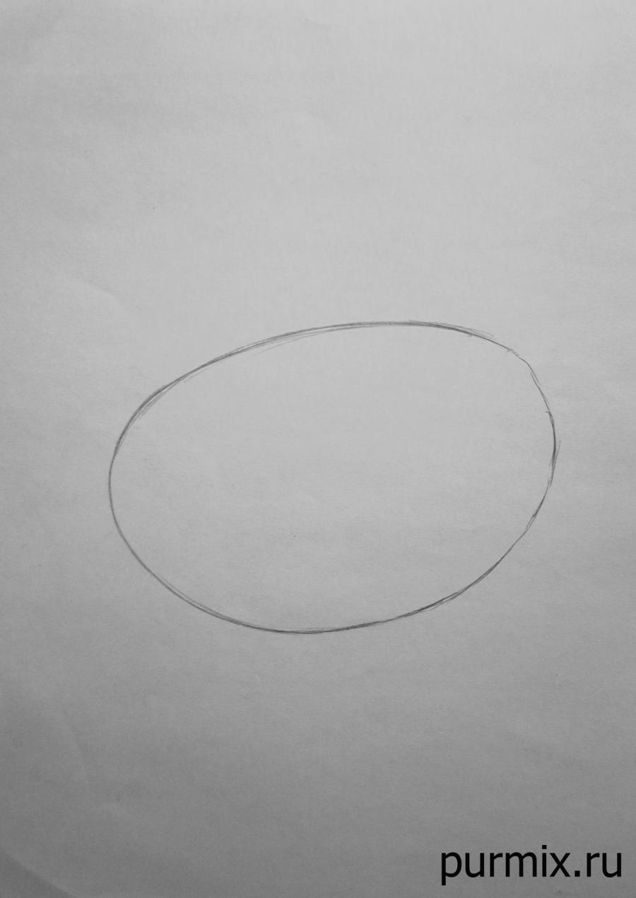 Как нарисовать Миссис Поттс из Красавица и Чудовище простым карандашом