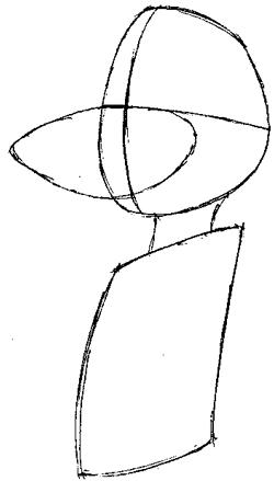 Как нарисовать мышь Бэзил из Великий мышиный сыщик карандашом поэтапно
