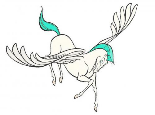 Рисуем Пегаса из Геркулеса