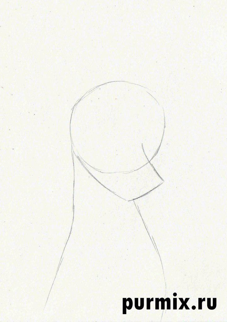 Рисуем Пэдди из 101 далматинец простым