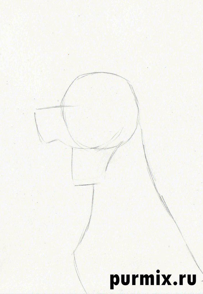 Рисуем Понго из 101 далматинец