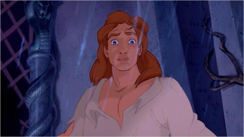 Рисуем принца Адама из Красавица и Чудовище простым