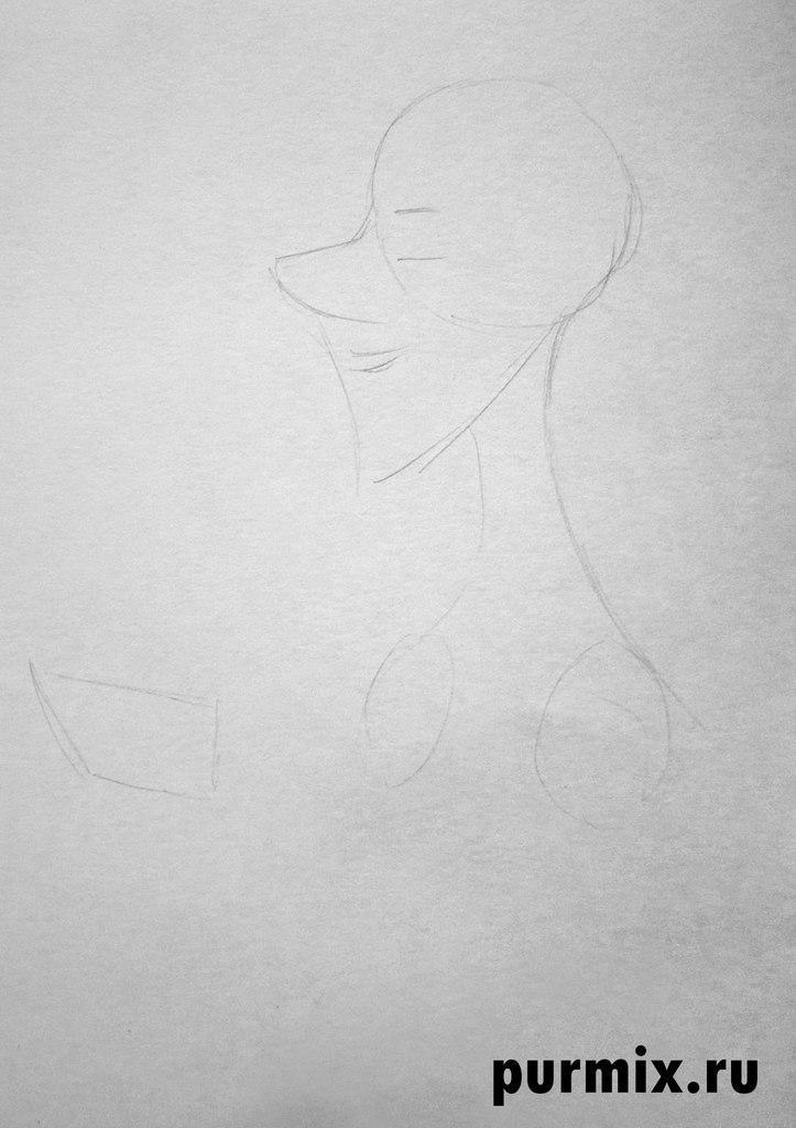 Рисуем Роджера из мультфильма 101 далматинец