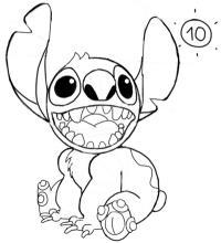Как нарисовать Стича из мульт-ма Лило и Стич карандашом поэтапно