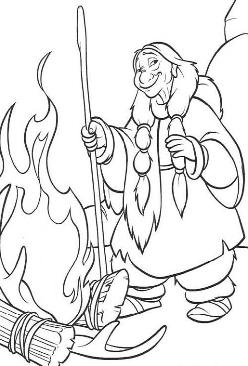 Рисуем Танану из Братец медвежонок