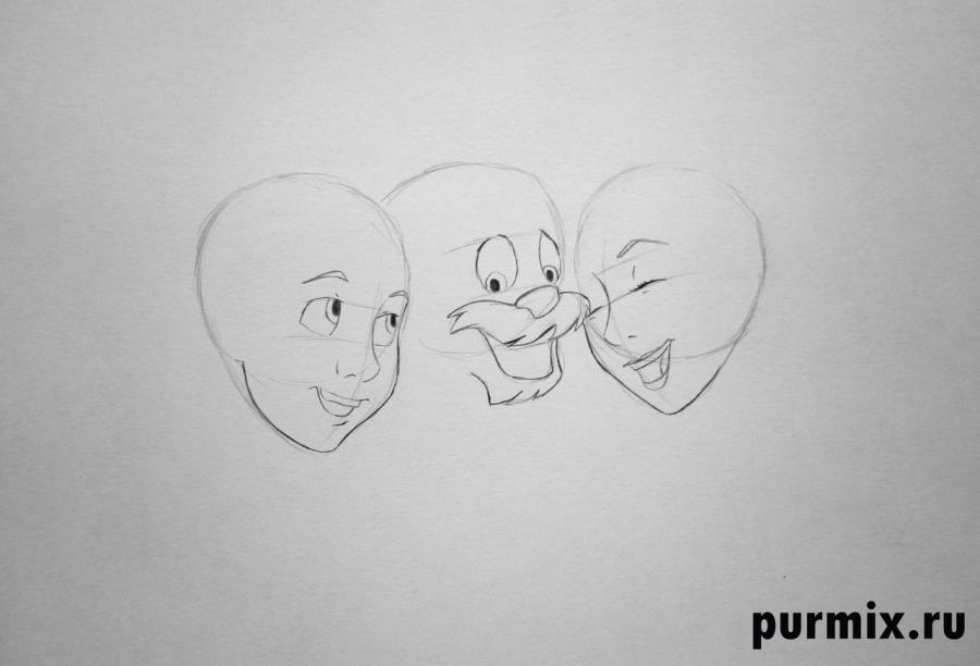 Рисуем Тарена, Гурги и принцессу Айлонви простым
