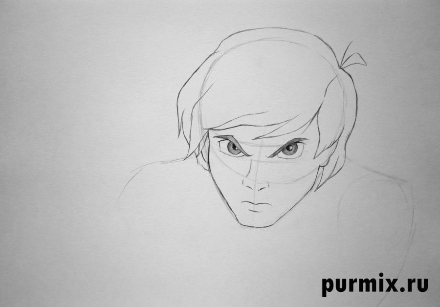 Рисуем Тарена из Черный котел простым