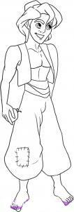 Как рисовать Аладдина карандашом