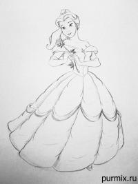 принцессу Белль из Красавица и Чудовище