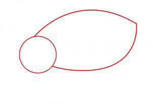 Рисуем носорога - шаг 4