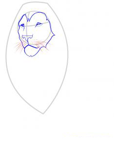 Рисуем льва - фото 3