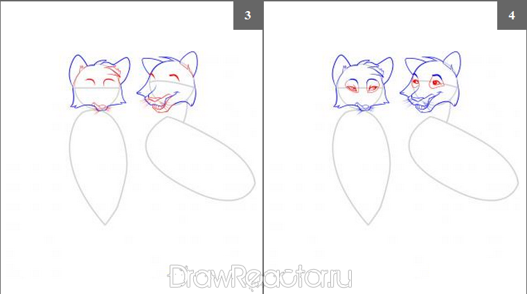 Как нарисовать лису карандашом