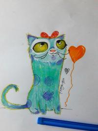 мультяшного кота