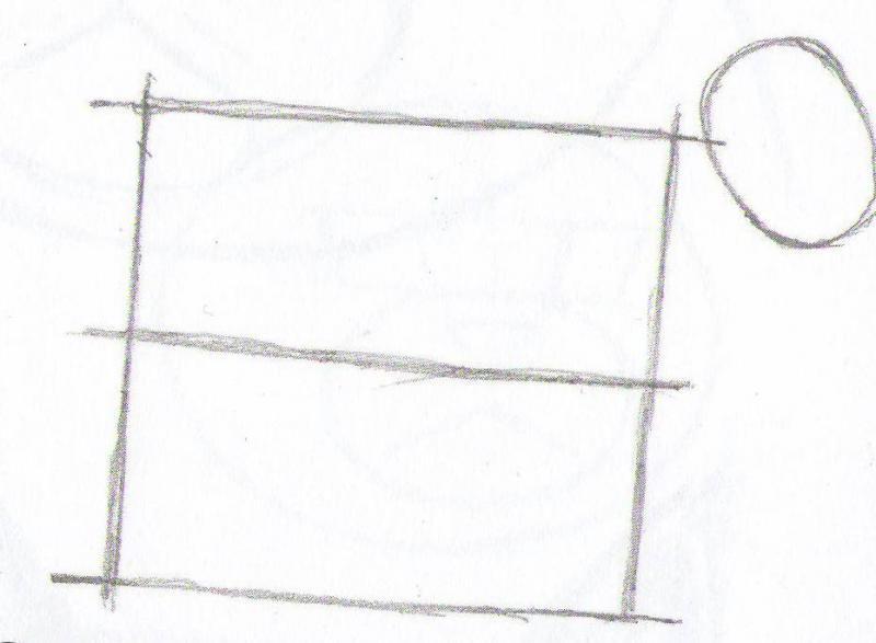 Рисуем кота карандашами  для начинающих - шаг 2