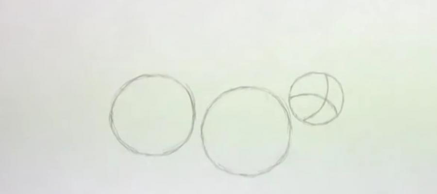 Рисуем ленивца простым