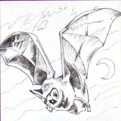 Рисуем летучую мышь - фото 4