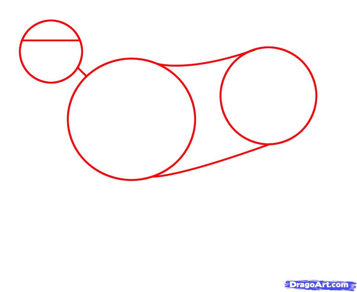Рисуем Львицу - шаг 1