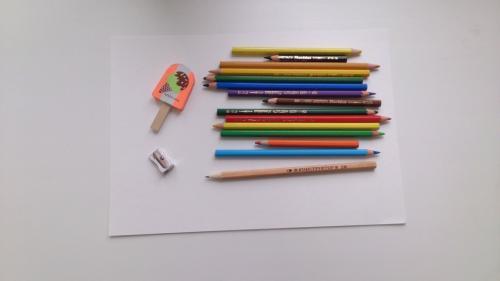 Рисуем птицу Гульдова Амадина цветными карандашами