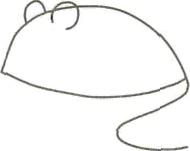 Рисуем серую мышку - фото 1