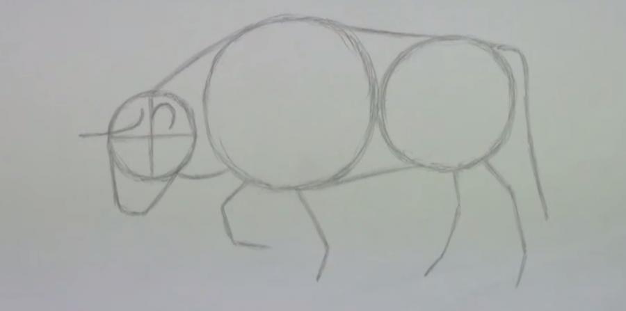 Рисуем быка - фото 2