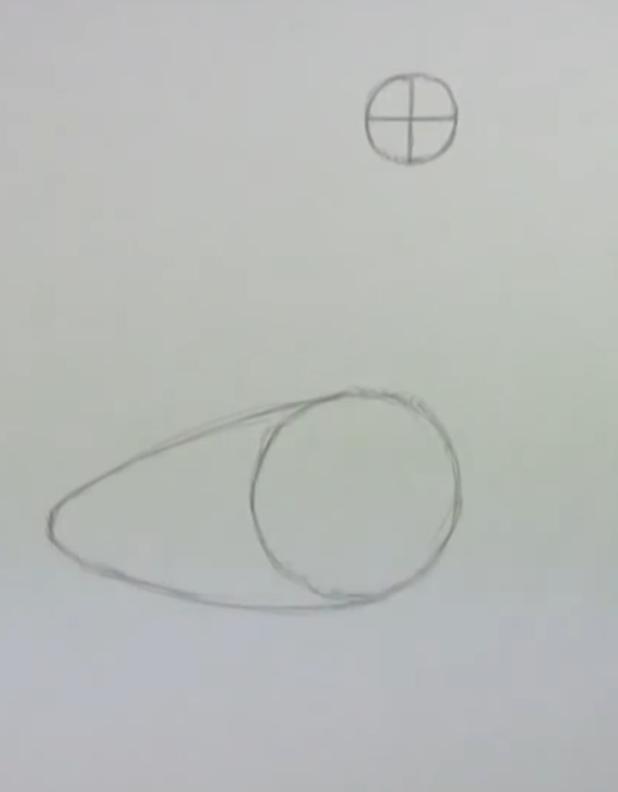 Рисуем гуся - фото 1
