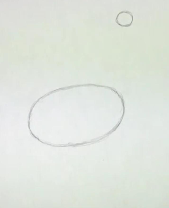 Как научиться рисовать страуса простым
