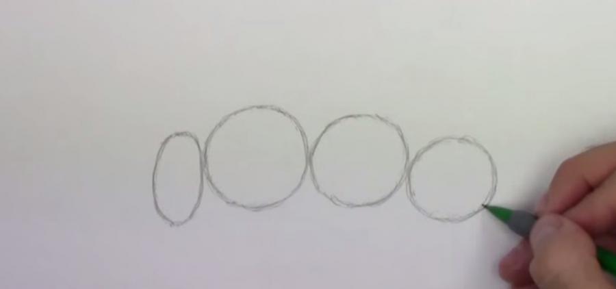 Как шаг за шагом нарисовать осу простым  на бумаге