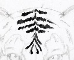 Рисуем морду тигра - шаг 9