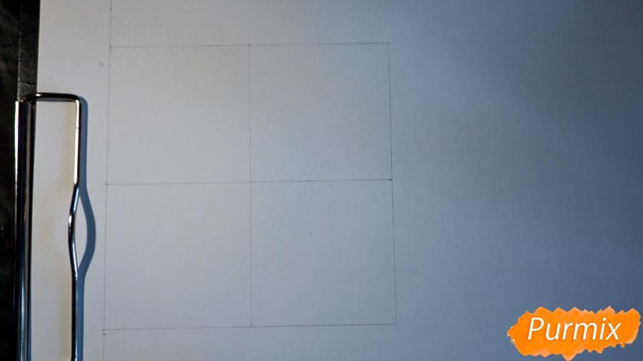 Учимся рисовать Велоцираптор - шаг 1