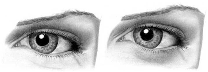 Учимся рисовать глаза человека - шаг 13